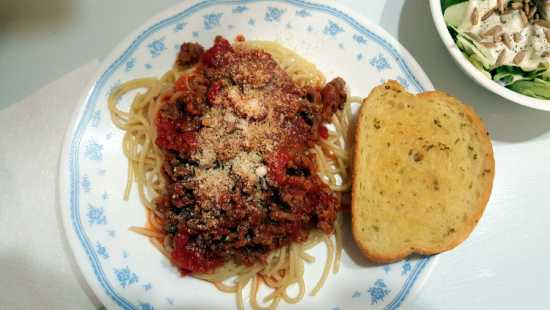 Spaghetti with Meat Sauce - So Easy, So Delicious!