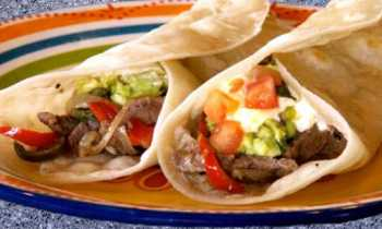 Delicious Rib-eye Steak Fajitas on the grill!