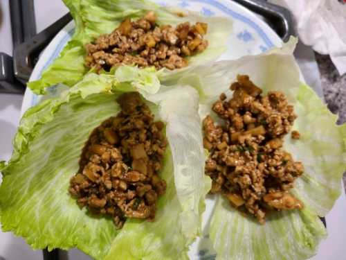 P.F. Chang's Copycat Chicken Lettuce Wraps On The Blackstone