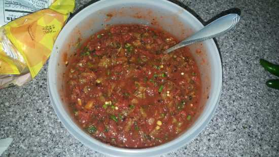 Easy Awesome Salsa