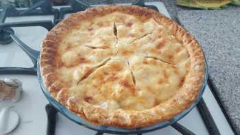 Asian Pear (pear apple) Pie!