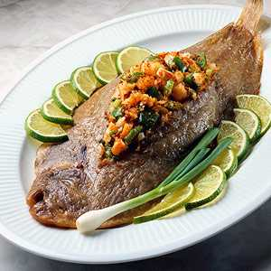 Baked Stuffed Fish