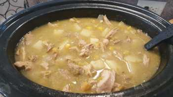 Delicious Pork and Green Chile Stew