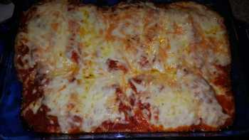 Italian Sausage and Cheese Manicotti